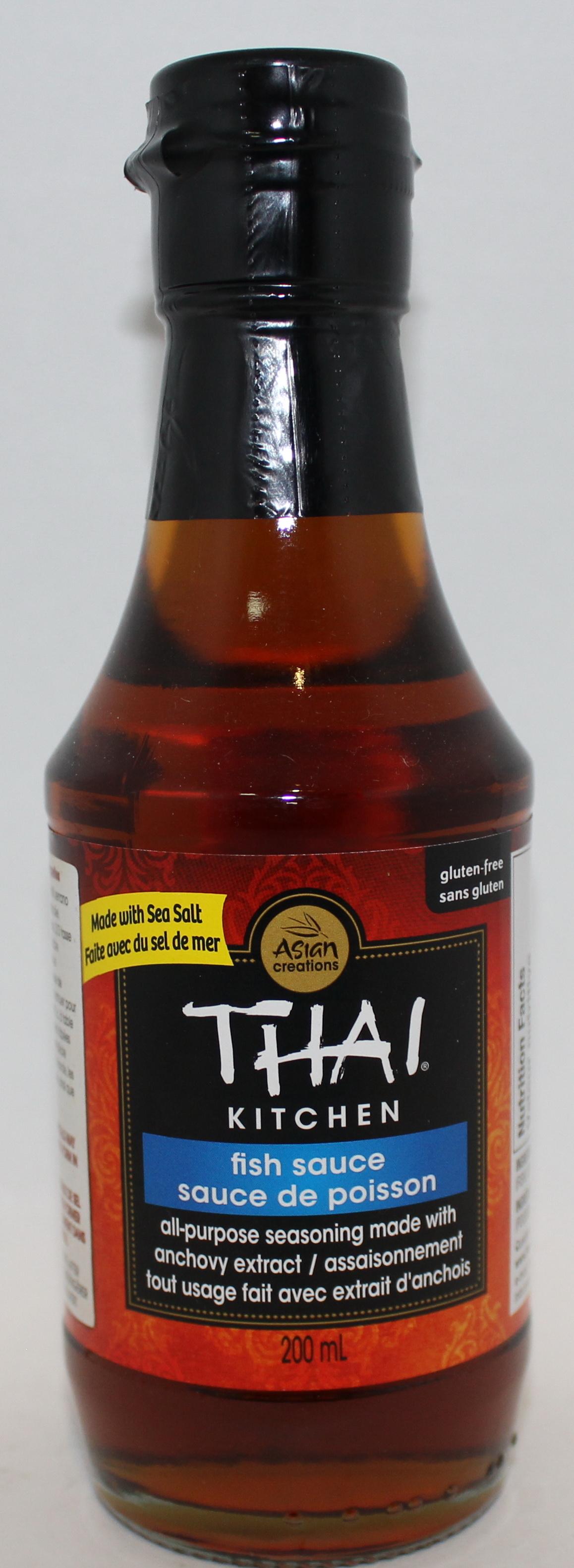 SAUCE THAI KITCHEN FISH SAUCE 200ML