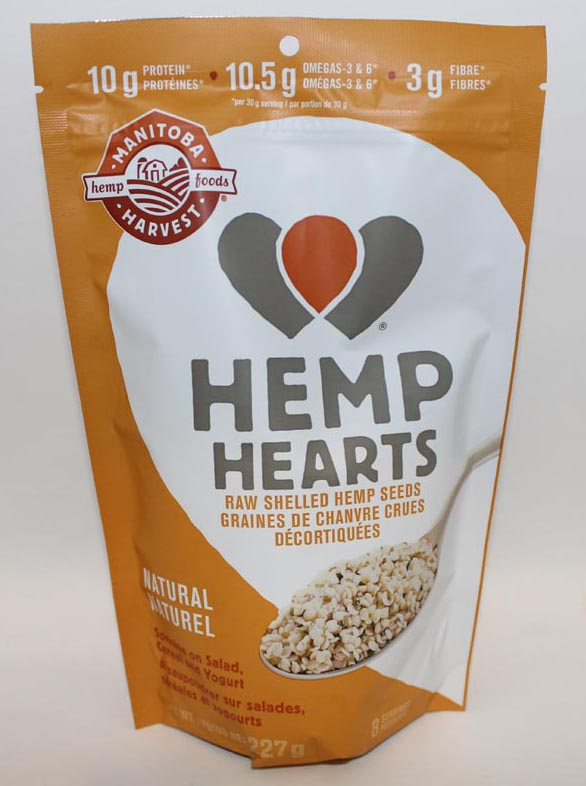 HEMP SEEDS MANITOBA HARVEST 227G