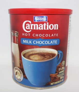HOT CHOCOLATE POWDER CARNATION MILK 500G