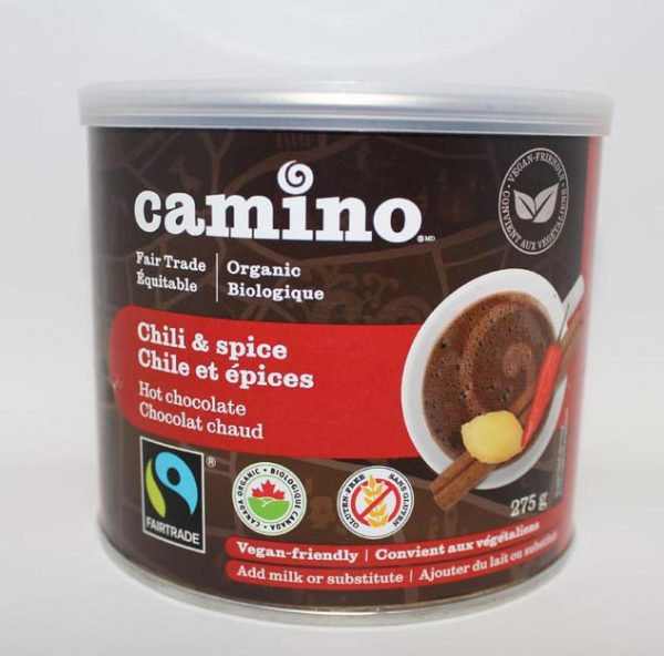 HOT CHOCOLATE POWDER COCOA CAMINO CHILI 275G