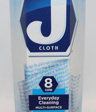 J CLOTH TOWEL BLUE 8PK