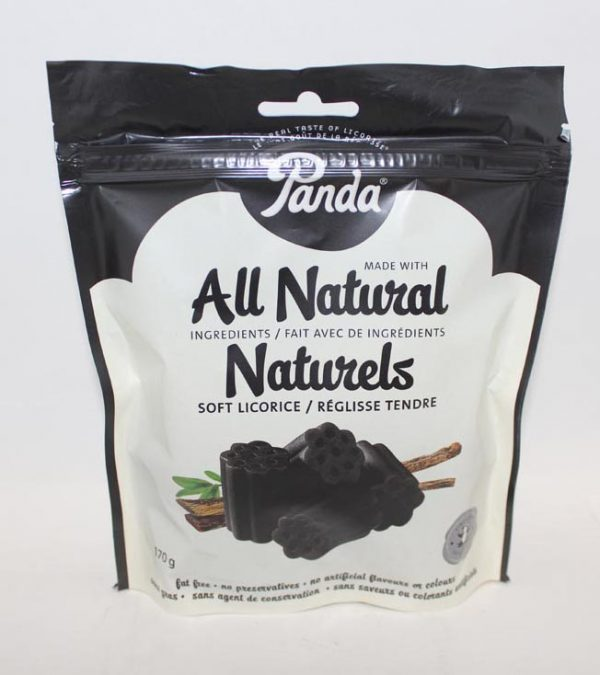 BLACK LICORICE PANDA BAG 170G
