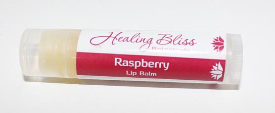 LIP BALM HEALING BLISS RASPBERRY