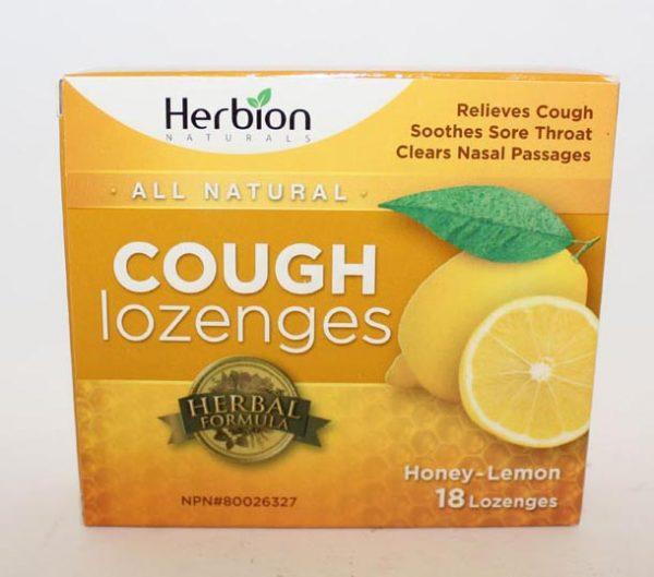 LOZENGE HERBION HONEY LEMON 18 PACK